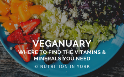 Veganuary – Where to find the vitamins & minerals YOU need