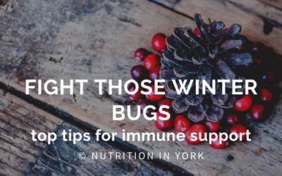 Fight Those Winter Bugs – Top Tips for Immune Support