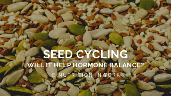Will seed cycling help hormone balance?