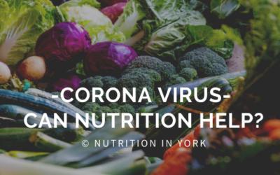 Corona virus – can nutrition help?