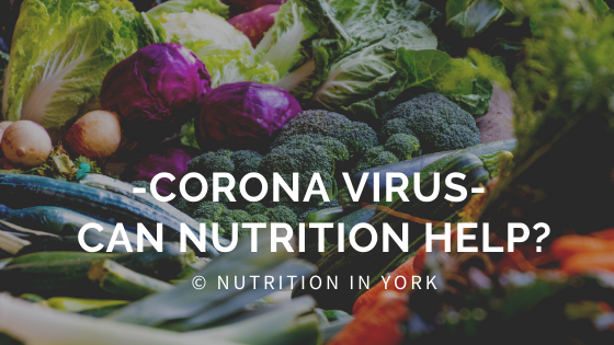Corona virus – can nutrition help?
