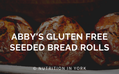 Abby's Gluten-free Seeded Bread Rolls
