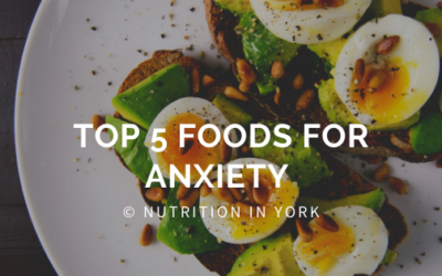 Top 5 Foods for Anxiety