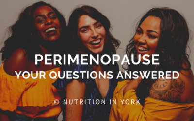 Perimenopause – Your Questions Answered