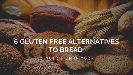 6 gluten free alternatives to bread