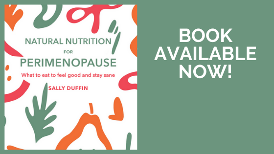 'Natural Nutrition for Perimenopause' is available now!
