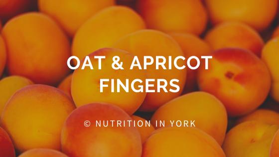 Oat & Apricot Fingers
